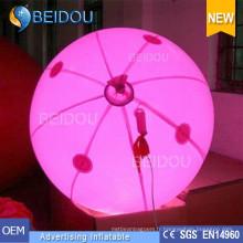 Ballons personnalisés en gros de LED Helium RC PVC Ballons publicitaires gonflables