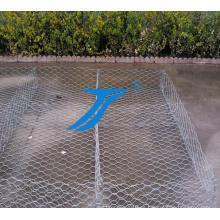 Caja de Gabion de la malla de alambre de acero de la fábrica de China para el edificio de piedra