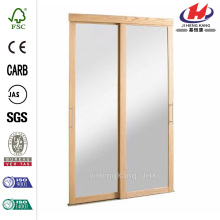 Savoy Mirror Steel Frame Interior Sliding Door