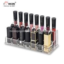 Design criativo, Engenharia de Valor e Fabricação na Casa Cosmética Shop Acrílico Lipstick Store Holder Display Box