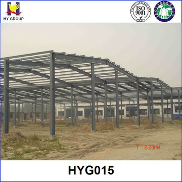 Prefabricated steel metal structure warehouse construction building