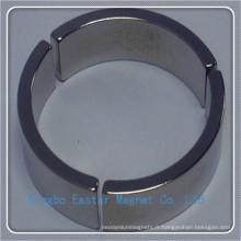 Aimant d'arc pour moteur à grande vitesse avec revêtement époxy/Zinc/Nickel
