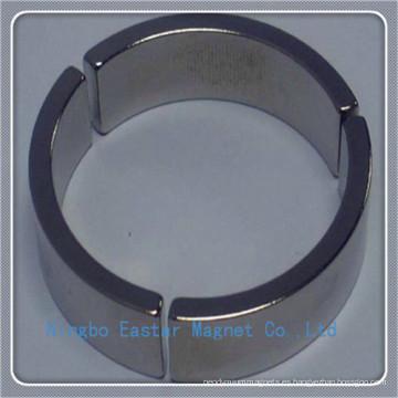 Imán de arco para Motor de alta velocidad con la capa del cinc/níquel/epoxi
