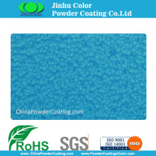 Bule crinkle wrinkle powder coatings