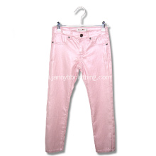 fashion girls pink skinny pants