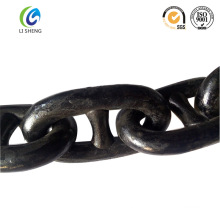 Stud link anchor chain for ship application