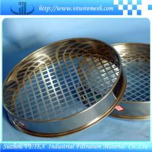 Tamiz de prueba estándar para filtración líquida