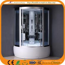 Grau gehärtetes Glas High Tray Duschraum (ADL-8322)