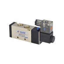 Válvula neumática de aire de solenoide de la serie 4V300
