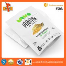 Sac en plastique biodégradable en aluminium laminé de 1 kg pour poudre de protéines de lactosérum
