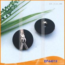 Botón de poliéster combinado de moda BP4401