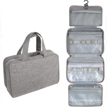 High Quality Tote Travel Organizer Travel Toiletry Kit Makeup Bag Waterproof Toiletry Cosmetic Case