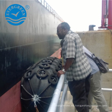 instalaciones de grandes puertos defensa neumática de goma para barcos defensa de Yokohama