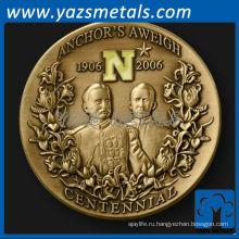 изготовленный на заказ металл якоря Aweigh вызов монета