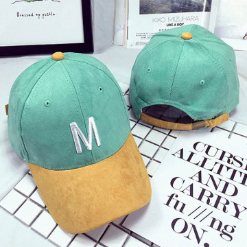 3D Embroidered Suede Baseball  Cap