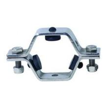 Sujetadores de tubo de acero inoxidable hexagonal