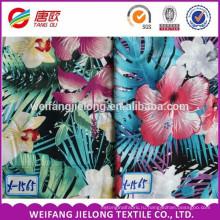 100% вискоза креп набивной ткани и ткани для мода платье