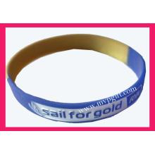 Plastik Armband mit Debossed Logo (m-WB01)