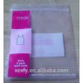 Ziplock PE saco com logotipo de impressão para a embalagem de roupas