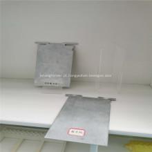 Placa de alumínio não poluente para bateria de ar de alumínio