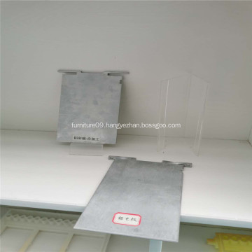 Non polluting Aluminum plate for aluminum air battery