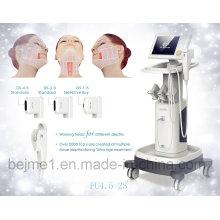Intensity Focus Ultrasound Hifu Eliminación de arrugas adelgazamiento de la máquina (FU4.5-2S)