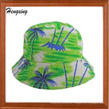 Moda Algodão Havaí Padrão Bucket Hat