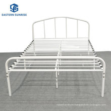 Kids Student Single Metal Bed Frame Twin Size with Fully Disassembled Design