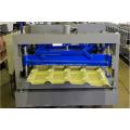 Машина для формовки глазурованной плитки из оцинкованной стали IBR