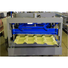 Metal galvanized IBR glazed tile forming machine
