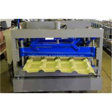 Máquina formadora de telha IBR galvanizada com metal
