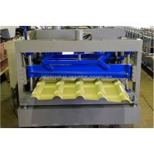 Máquina perfiladora de teja esmaltada IBR galvanizada en metal