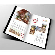 Brochure d'impression de magazine de quatre couleurs Impression de catalogue fait sur commande