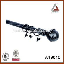 Black Curtain Track / Drapery Hardware / Metall Drapery Rod