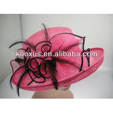 Sinamay headwear sombreros fascinadores al por mayor y al por menor