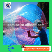 Perfect design inflatable water running ball, hot sell orb wheel custom water roller for fun