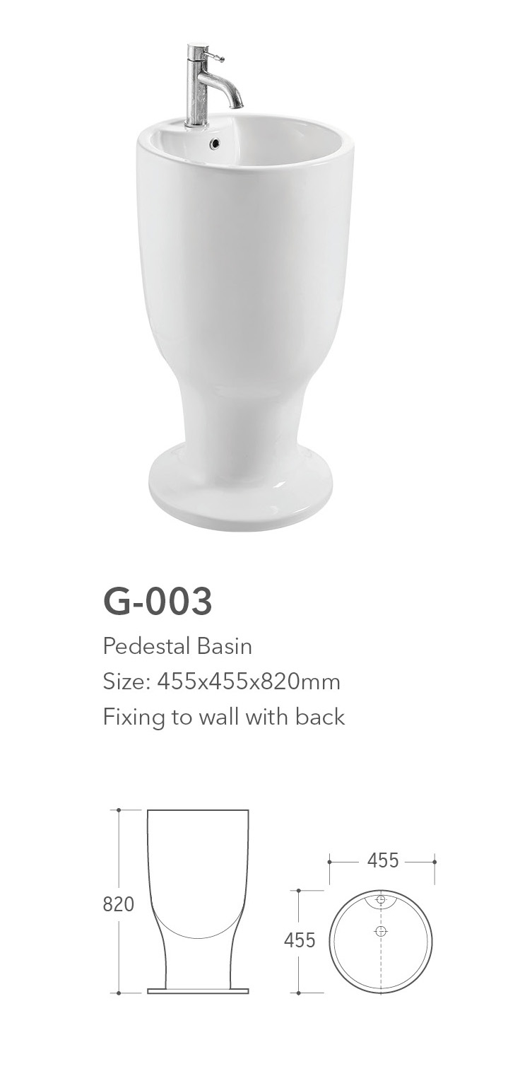 G 003 Standing Basin