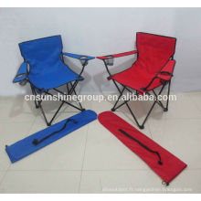 vente chaude 2014 repose-pieds chaise coloré, camping chaise de camping