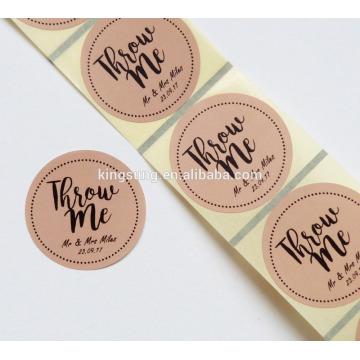 direkt Fabrik Verpackung Klebstoff Papier Etikett Aufkleber drucken