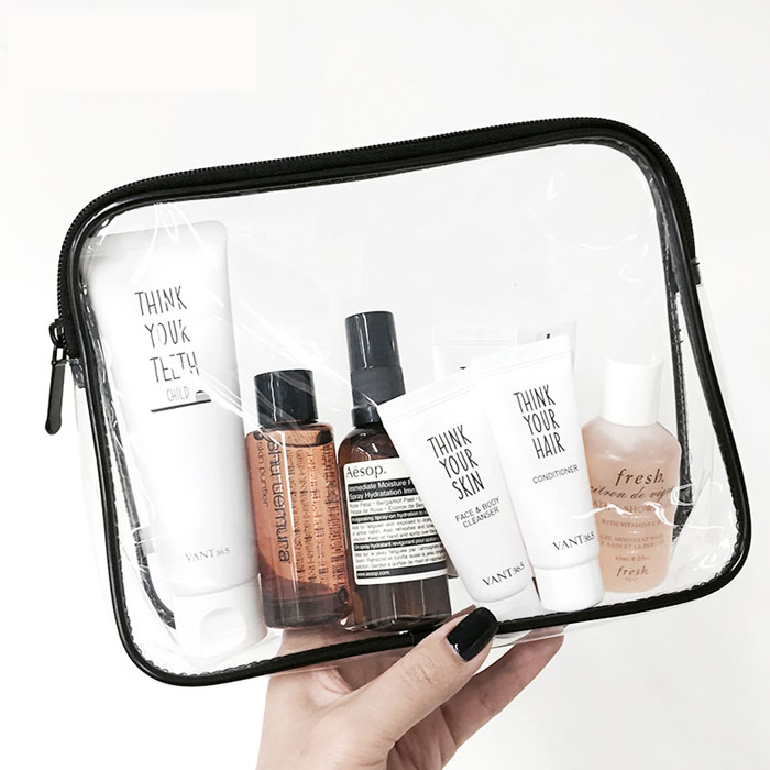 Pvc Toiletry Travel Bag