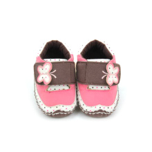Wholesales Butterfly Pattern Velcro Baby Toddler Shoes