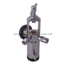 Pin Index Oxygen Regulator W/ Two Check Valves