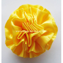 Satin Ribbon Multilayers Flower Shoe Clips
