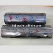 Rouleaux de feuille de PVC souple clairs
