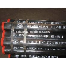Tuyau d'acier sans couture de carbone doux de catégorie B d'ASTM A106