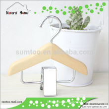 Grade A Lotus wooden pet folding clothes hanger