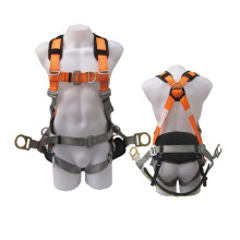 High Quality Professional Adjustable Working Polyester Full-Body Safety Harness Belt