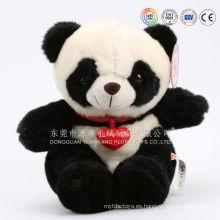Juguete de felpa auditado ICTI Panda Juguete de peluche / Panda de peluche suave / Peluches Panda de peluche