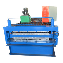Lapisan Double Steel Steel Roller Profile Making Machine