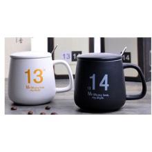 Taza modificada para requisitos particulares de la taza, taza de cerámica al por mayor de Patteern 11oz promocional